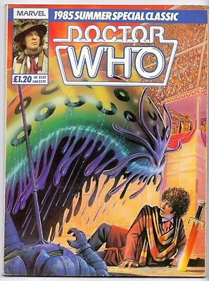 DOCTOR WHO  SUMMER SPECIAL CLASSIC  TOM BABER   FN/FN+   1985    European Comics