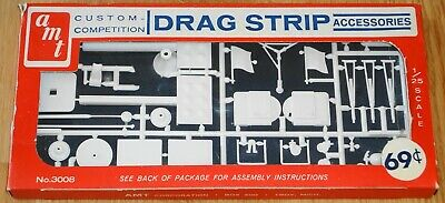 Amt Custom Competition Drag Strip Accessories 1:25