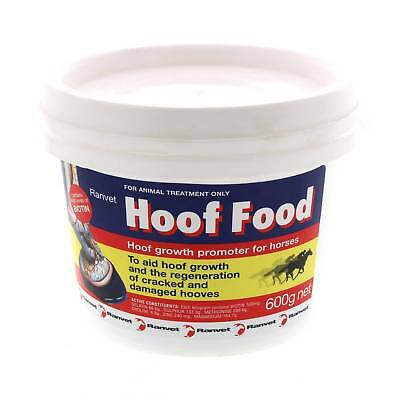 Hoof Food With Biotin Improves Hoof Strength and Resilience 600g Ranvet