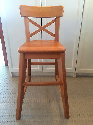 Junior (high) chair, Ingolf IKEA brand - antique stain