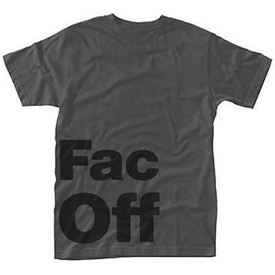 Factory Records - FAC Off Grey Mens Short Sleeve T-Shirt - New & Official