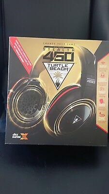 GUT Turtle Beach Ear Force Stealth 450 Wireless Gaming Headset Gaming schwarzrot