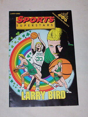 "1992-""sports Superstars"" Comic-""larry Bird"""