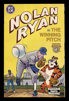 NOLAN RYAN in THE WINNING PITCH - PUBLISHED BY DC COMICS WITH SPORTS ILLUSTRATED