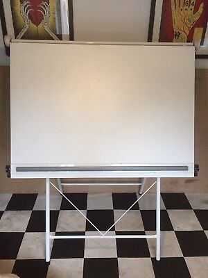A0 Drawing Board With Parallel Ruler 127x92