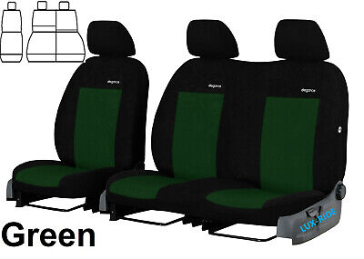 Ford Transit Connect Van 2+1 2014 Onward Velour Seat Covers Made To Measure