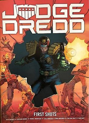 Judge Dredd: First Shots