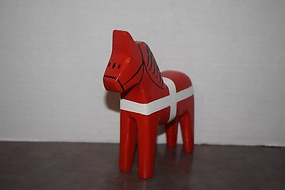 Collectible Handmade Wooden Carved Horse
