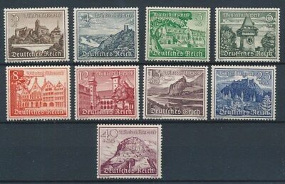 [99549] Germany 1939 good set Very Fine MNH stamps Value $70
