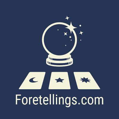 Foretellings.com Premium One Word Prediction Forecast Crystall Ball Domain Name