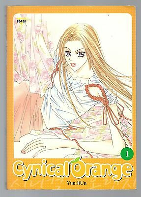Cynical Orange 1 by Yun JiUn Korean Manhwa Romance ISBN 89-527-4457-8 2005 DANBI