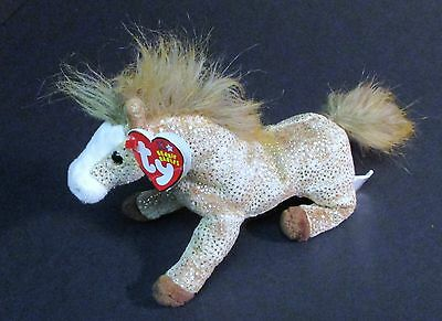 Ty Plush Bean Bag Beanie Babies Collection Filly the Horse 2002