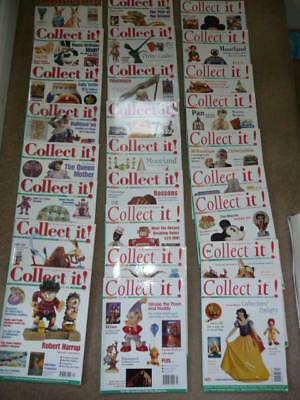x26 ISSUES of COLLECT IT MAGAZINES Antiques & Collectables 1997-2001 (3 THRU 50)