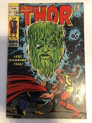The Mighty Thor #164 Marvel Comics Vintage