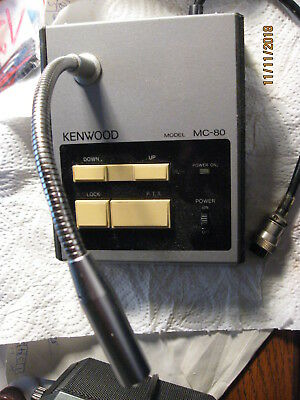 Kenwood MC80 Standmikrofon.
