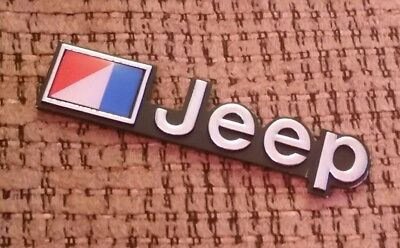 AMC Jeep Emblem 1976-1986 CJ5 CJ7 CJ8 - ORIGINAL not REPRODUCTION toledo factory