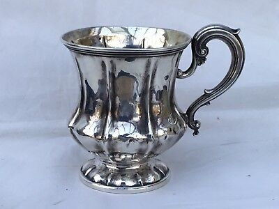 Georgian Solid Silver Christening Cup, 1828