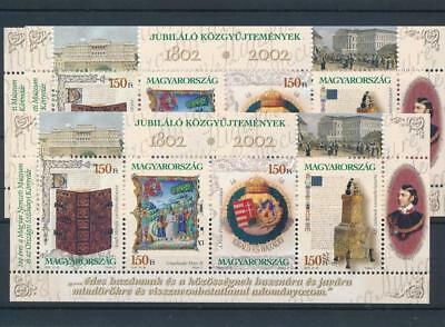 [16762] Hungary 2002 : 3x Good Very Fine MNH Sheet