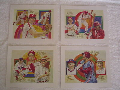 Carlton, Roberts - 1983  Phillies - Perez - Steele Litho # 750-4 (Only) -Nice
