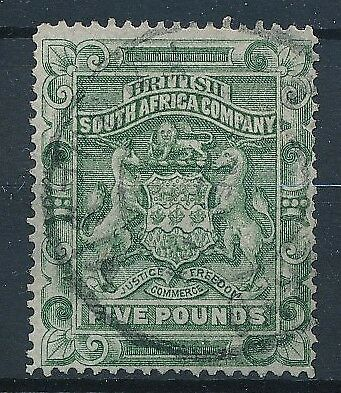 [38711] South Africa Rhodesia 1890/93 Good RARE stamp Very Fine used