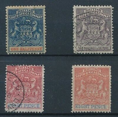 [38732] South Africa Rhodesia Good lot old stamps Very Fine MH/used