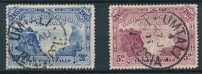[38736] South Africa Rhodesia 1905 Two good stamps Very Fine used