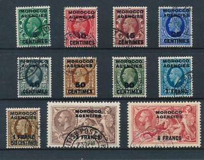 [38853] Morocco 1935/37 Good set Very Fine used stamps