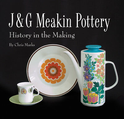 J & G Meakin Pottery Book Kitsch 1950S 1960S 1970S Vintage Retro Midwinter