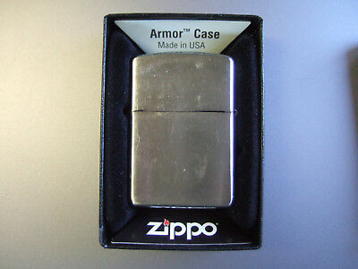 Zippo 162 brushed chrome armor Lighter