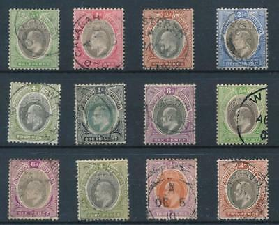 [38977] Southern Nigeria 1903/04 Good lot Very Fine used stamps
