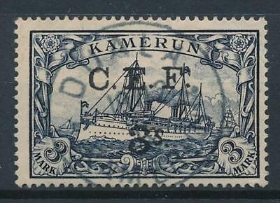 [39200] British Occ. German Cameroon 1915 Good RARE stamp Very Fine used