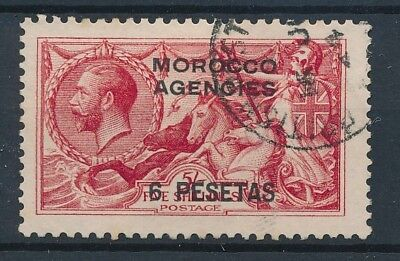 [39256] British Morocco 1914 Good stamp Very Fine used Value $100