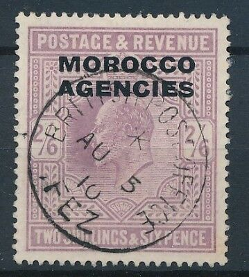 [39262] British Morocco 1907/10 Good stamp Very Fine used