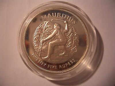 Mauritius 1977 25 Rupees PROOF / PP. Selten in PP.