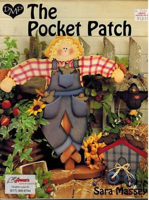 Pocket Patch Wood Craft Tole Painting PATTERN Home Decor Country Folk Art Fun