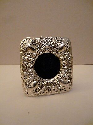 Victorian Sterling Silver Hallmarked Photo Frame