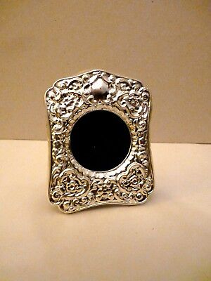 Edwardian Sterling Silver Hallmarked Photo Frame