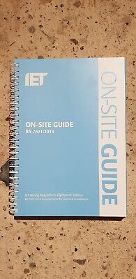 18th Edition Blue On site guide BS 7671:2018