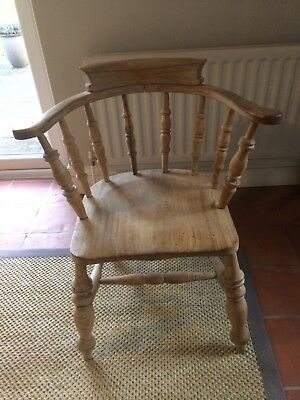 Gorgeous captains chair, smokers chair , beech