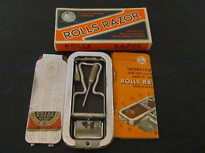 Vintage/Antique ROLLS RAZOR Imperial # 2 Complete w/Orig Box; London, England.