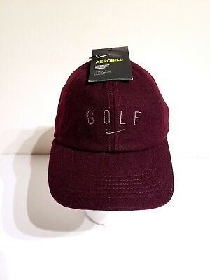 6156c78ad40 NIKE WOMEN S AeroBill Legacy 91 Golf Hat  Cap -Clay Grey Anthracite ...