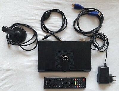 Xoro HRT 8720 HD DVB-T2 20dB Antenne H.265 USB PVR Freenet TV Irdeto