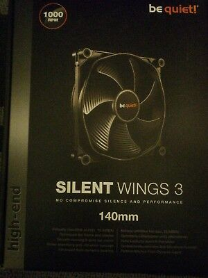 Bequiet! Be quiet! 140mm Silent Wings 3 PWM 1000RPM