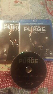 The First Purge (Blu-ray Disc ONLY, 2018) - no DVD or Digital Code Free Shipping