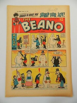 Beano Comic #913 (1960) - Jan 16th - Fine Condition
