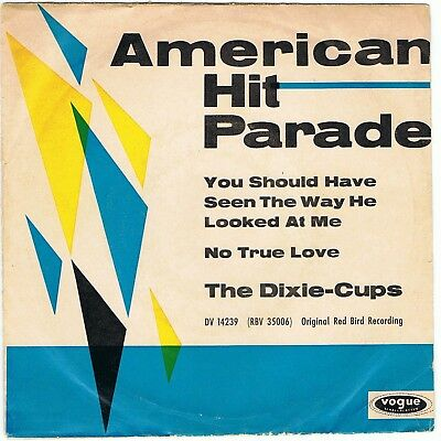 """THE DIXIE CUPS You should have seen the way he.. 7"""" Single VOGUE Girl-Group 1964"""