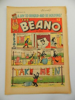 Beano Comic #914 (1960) - Jan 23rd - Fine- Condition