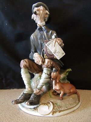 """Giuseppe Cappe  """"The Organ Grinder""""  - Excellent  condition"""