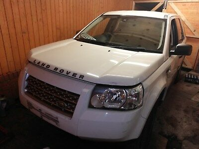 Freelander 2 Td4 Spares Or Repairs 2.2 Diesel No Reserve