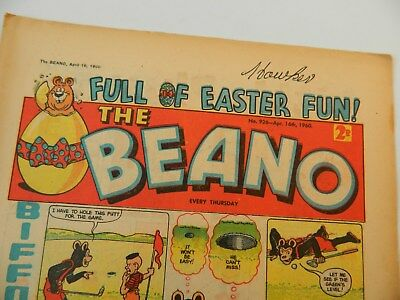 Beano Comic #926 (1960) - April 16th - Easter Issue ! - Fine Condition